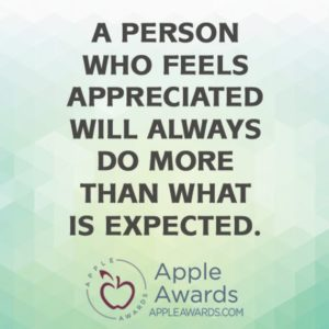Motivational Saying about Appreciation